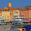 Port Of Saint-tropez In France by Giancarlo Liguori