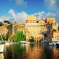 Port Of Sorrento, Southern Italy by Anastasy Yarmolovich