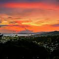 Port Of Spain Sunset by Nadia Sanowar