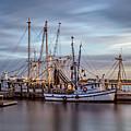Port Royal Shrimp Boats by Steven Greenbaum