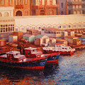 Port Said At Dawn by Timothy Jones