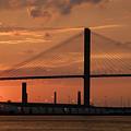 Port Savannah Sunset by David Lee Thompson