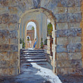 Portals At Vizcaya by Ann Caudle