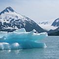Porter Glacier Alaska II by Chuck Kuhn