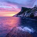 Portevenere Sunset by Michael Blanchette