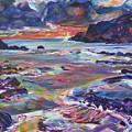 Porthdafarch 2 by Karin McCombe Jones
