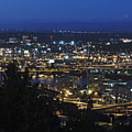 Portland At Dusk by Cityscape Photography
