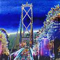 Portland Bridge by LaMarr Kramer