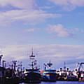 Portland Harbor Panaramic by Gary Clem