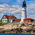 Portland Head Lighthouse by Dave Thompsen