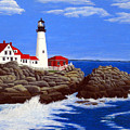 Portland Head Lighthouse by Frederic Kohli