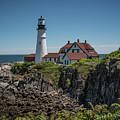 Portland Head Lighthouse by Judy Wolinsky