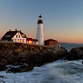 Portland Head Lighthouse Sunrise by Betty Pauwels