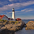 Portland Lighthouse by Mary Lisa Photography