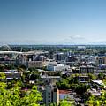 Portland Oregon by Joan Baker