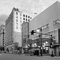 Portland Public Library, Portland, Maine #134785-87-bw by John Bald