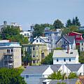 Portland Rooftops by Faith Harron Boudreau
