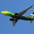Portland Timbers - Alaska Airlines N607as by Aaron Berg