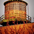 Portland Water Tower IIi by Albert Seger