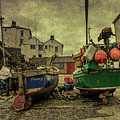 Portloe Boats  by Rob Hawkins