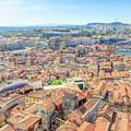 Porto Aerial Portugal by Benny Marty