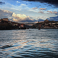 Porto And Vila Nova De Gaia River View by Artur Bogacki