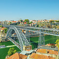 Porto Bridge Skyline by Benny Marty