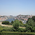 Porto Garden View II Portugal by John Shiron