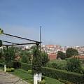 Porto Hilltop Garden View Portugal by John Shiron