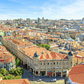Porto Historic Center Aerial by Benny Marty