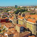 Porto Skyline Portugal by Benny Marty