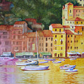 Portofino Afternoon by Karen Stark