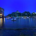 Portofino Bay By Night - Notte Sulla Baia Di Portofino by Enrico Pelos