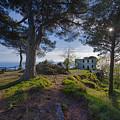 The House Of The Rising Sun In Portofino by Enrico Pelos