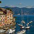 Portofino Italy by Allan Einhorn