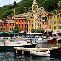 Portofino Italy by Nancy Bradley