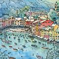 Portofino by Luca Massone