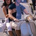 Portofino Scooter Couple by Neil Buchan-Grant