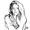 Portrait 4 by Carrley Mason