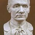 Portrait Bust Of Rudolf Steiner by David Dozier