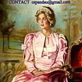 Portrait Commissions By Portrait Artist Carole Spandau by Carole Spandau