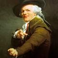 Portrait De L Artiste Sous Les Traits D Un Moqueur 1793 by Ducreux Joseph