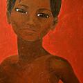 Portrait Of A Boy by Michelle Key