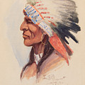 Portrait Of A Chief by Celestial Images