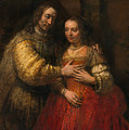 Portrait Of A Couple As Figures From The Old Testament by Rembrandt