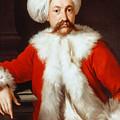 Portrait Of A Gentleman In Oriental Costume by Andrea Soldi