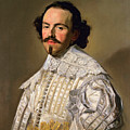 Portrait Of A Gentleman In White by Frans Hals