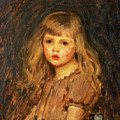 Portrait Of A Girl by John William Waterhouse