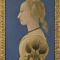 Portrait Of A Lady by PixBreak Art