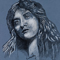 Portrait Of A Lady by Callan Art